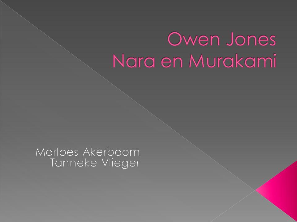 Owen Jones Nara en Murakami