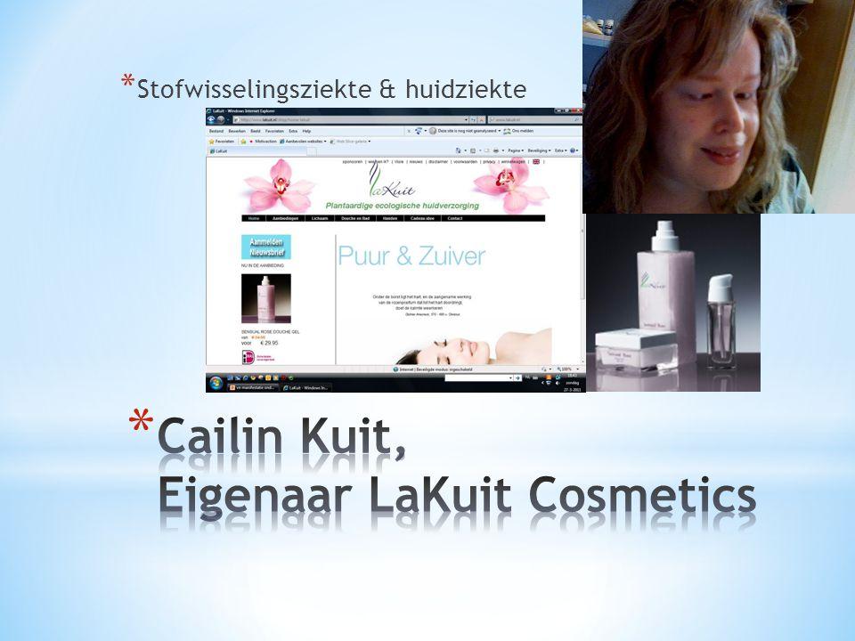 Cailin Kuit, Eigenaar LaKuit Cosmetics