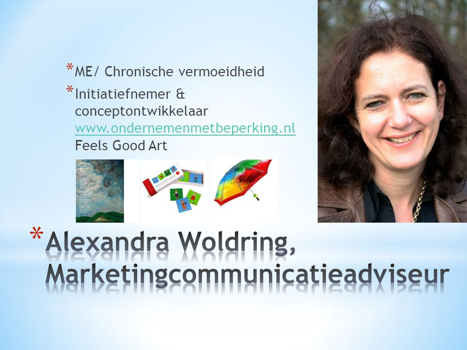Alexandra Woldring, Marketingcommunicatieadviseur