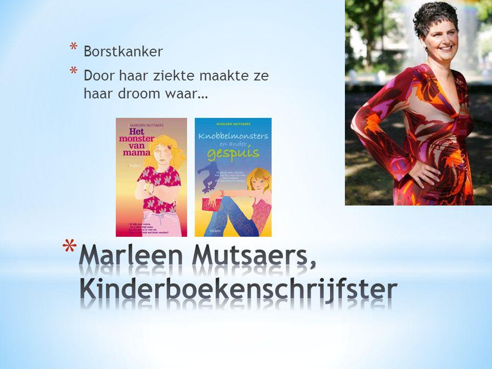 Marleen Mutsaers, Kinderboekenschrijfster