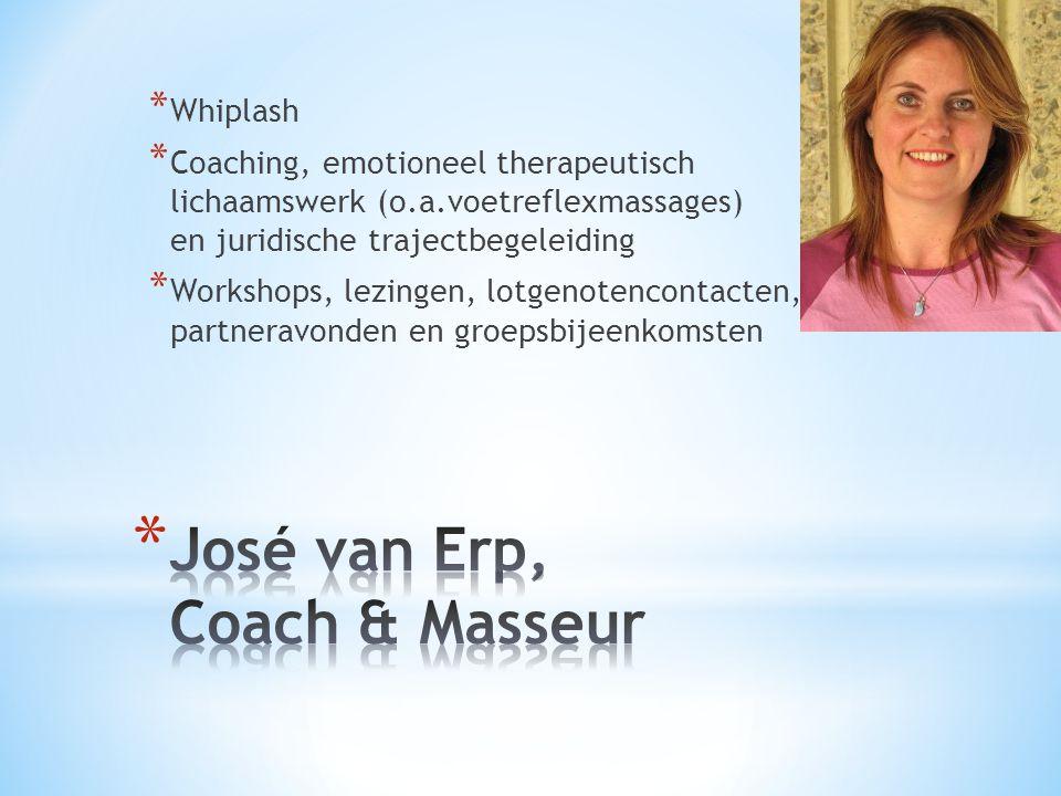 José van Erp, Coach & Masseur