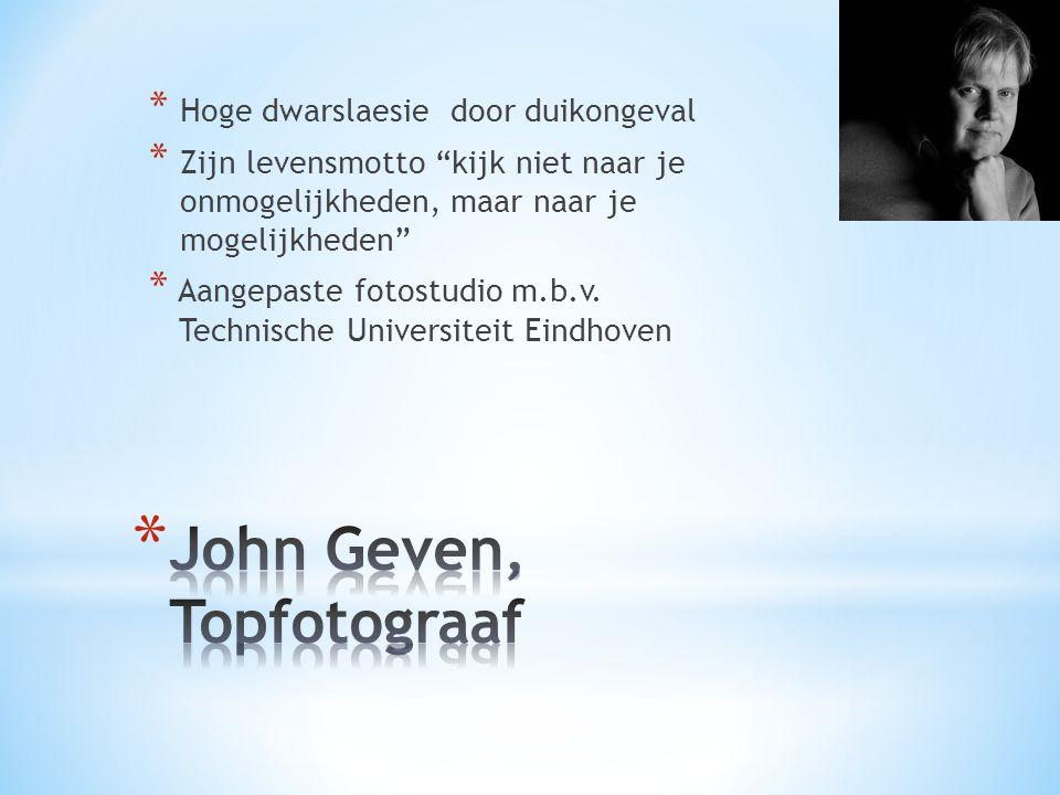 John Geven, Topfotograaf