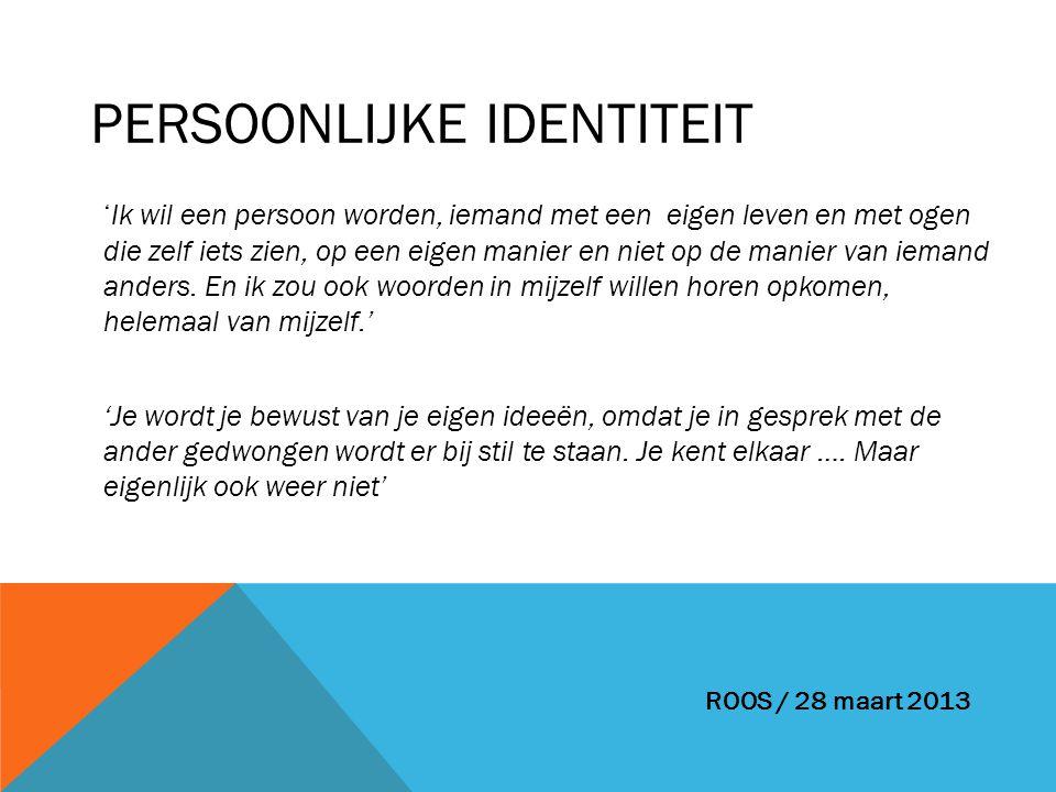 Persoonlijke identiteit