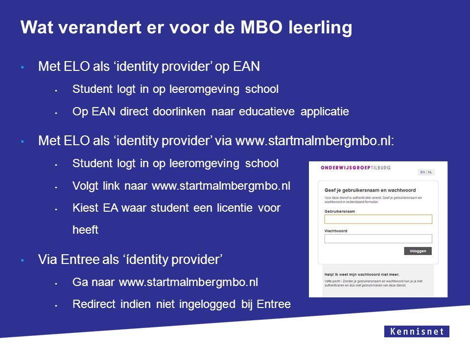 Wat verandert er voor de MBO leerling