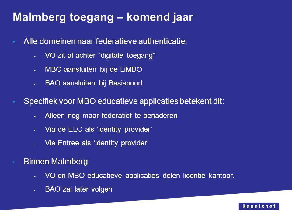Malmberg toegang – komend jaar