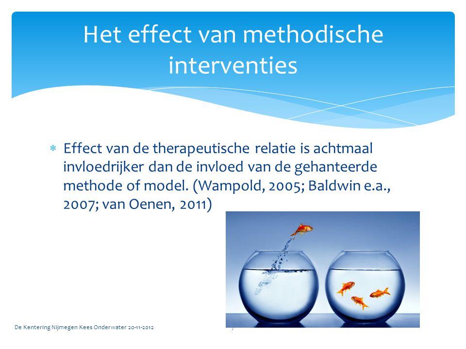 Het effect van methodische interventies