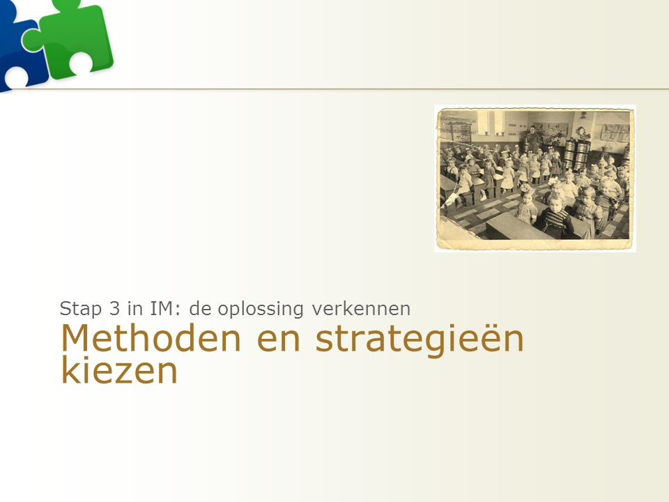 Methoden en strategieën kiezen