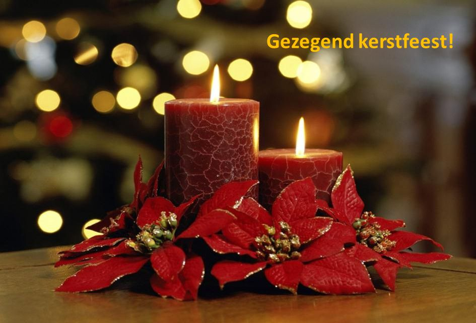 Gezegend kerstfeest!