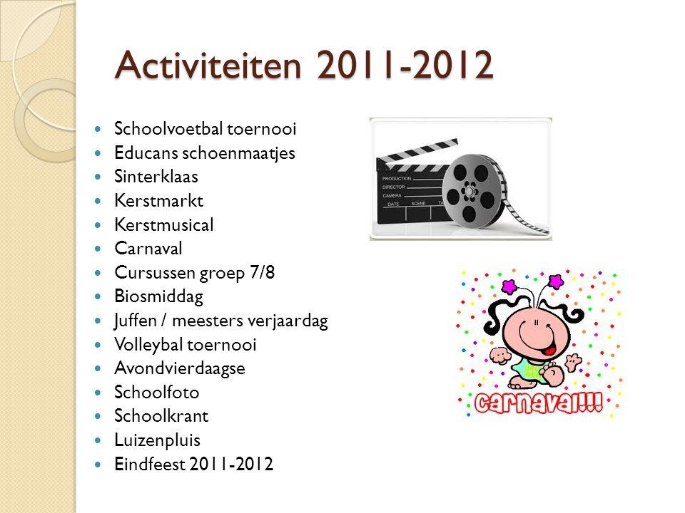 Activiteiten 2011-2012 Schoolvoetbal toernooi Educans schoenmaatjes