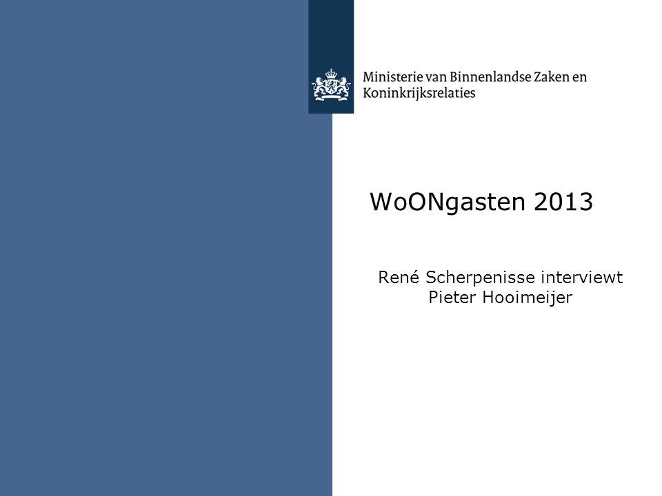 René Scherpenisse interviewt Pieter Hooimeijer