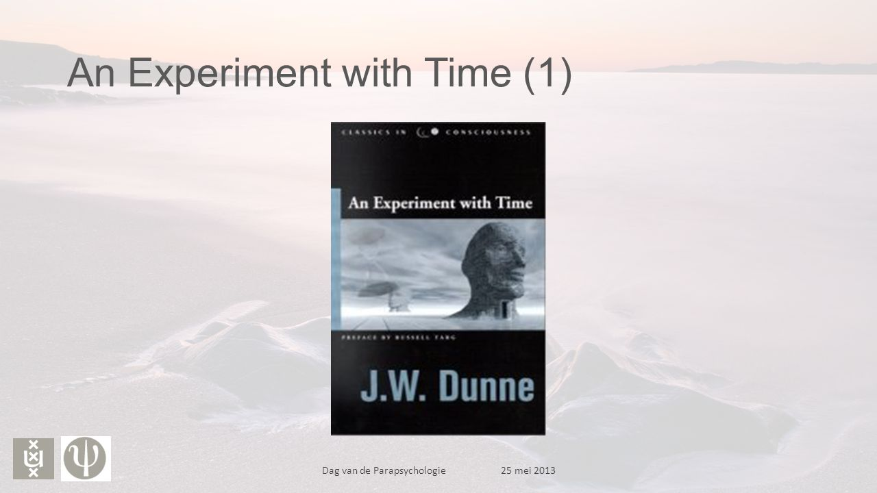 An Experiment with Time (1)
