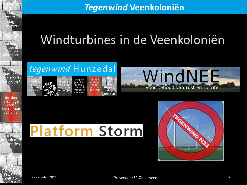 Windturbines in de Veenkoloniën