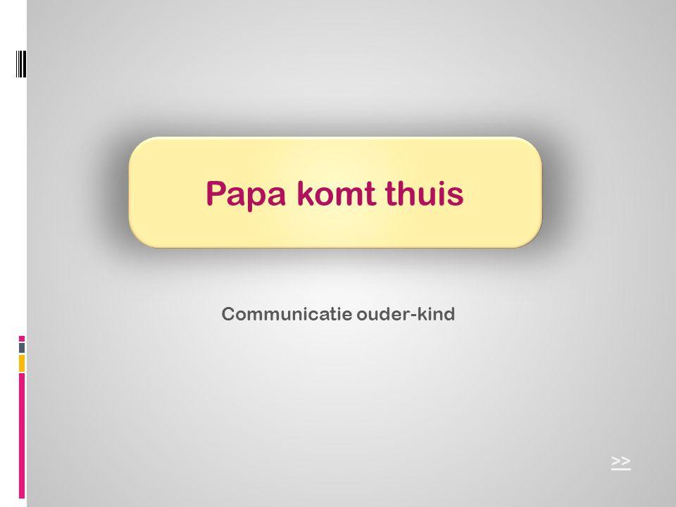 Communicatie ouder-kind