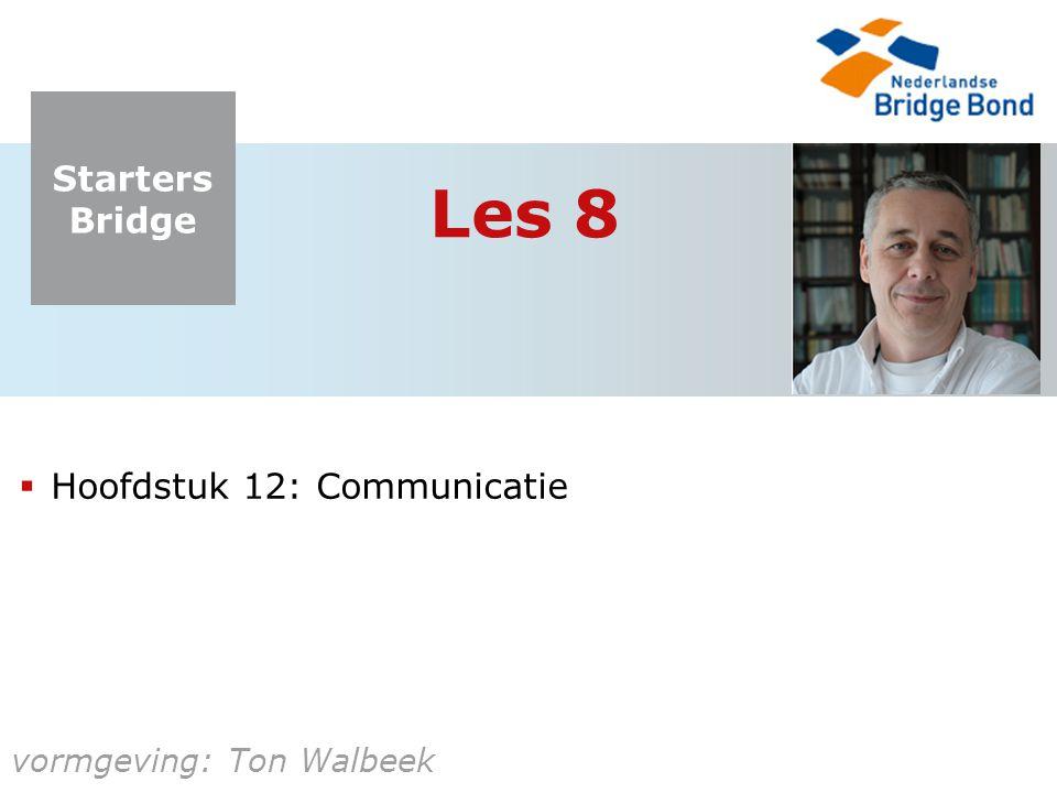Les 8 Hoofdstuk 12: Communicatie