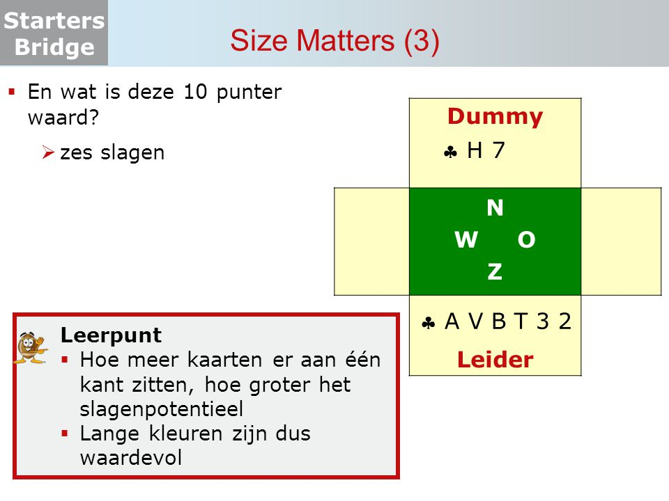 Size Matters (3) Dummy N W O Z  H 7 Leider  A V B T 3 2