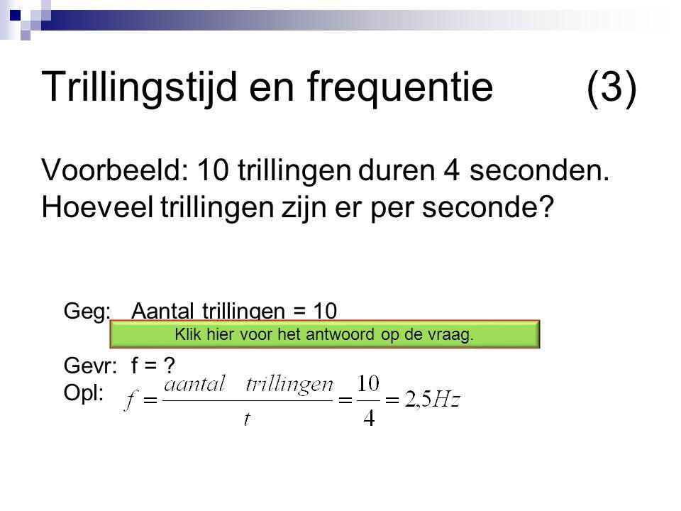 Trillingstijd en frequentie (3)