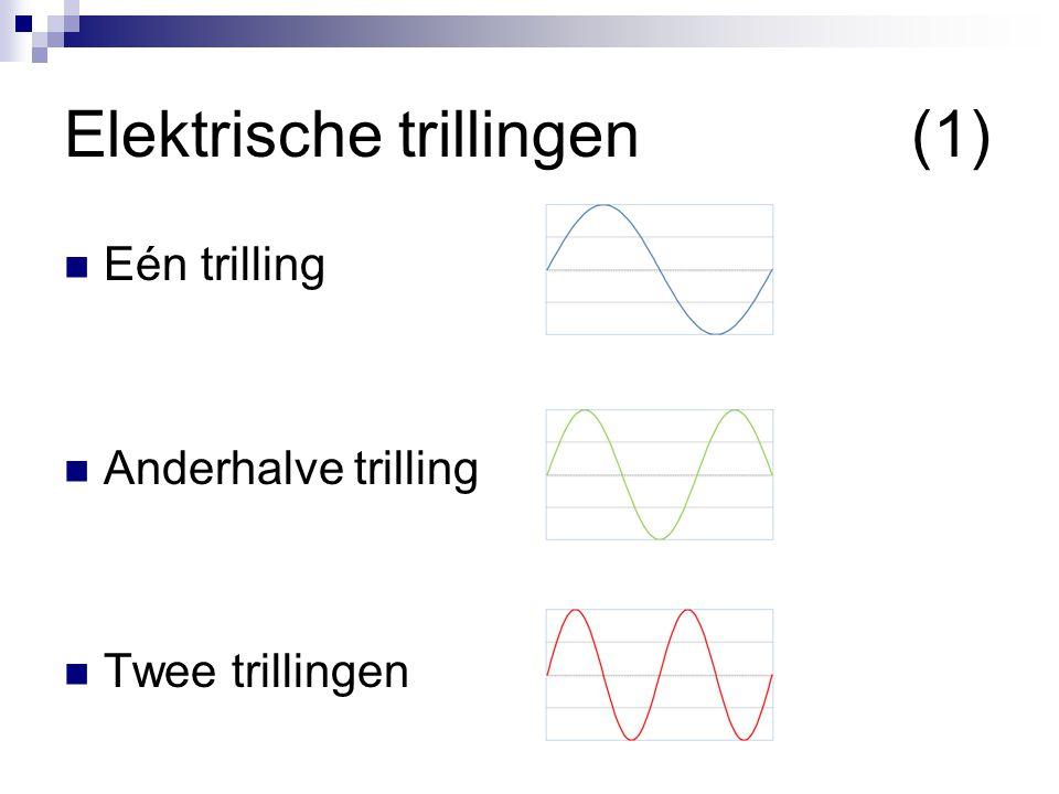 Elektrische trillingen (1)