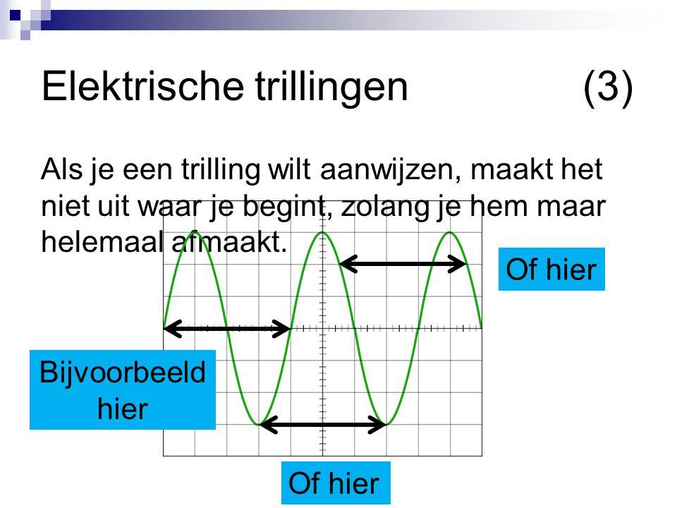 Elektrische trillingen (3)