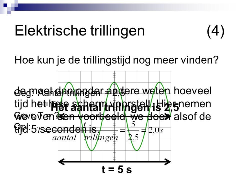Elektrische trillingen (4)