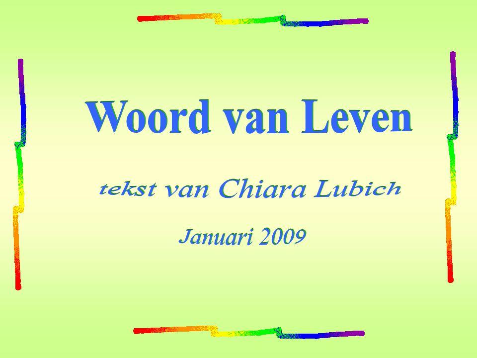 tekst van Chiara Lubich