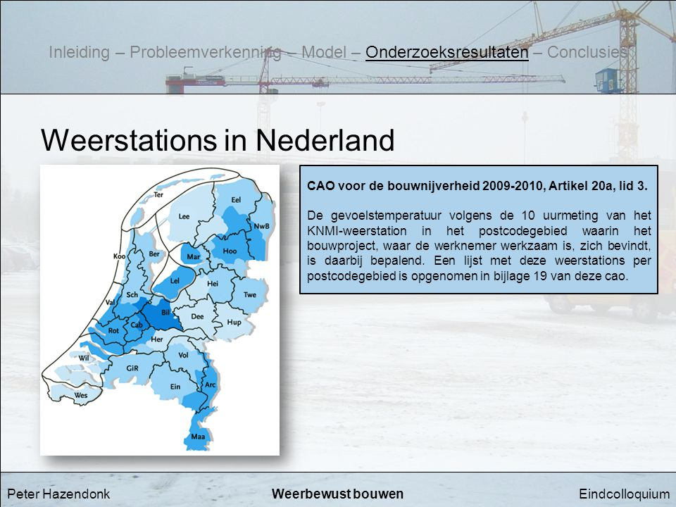Weerstations in Nederland