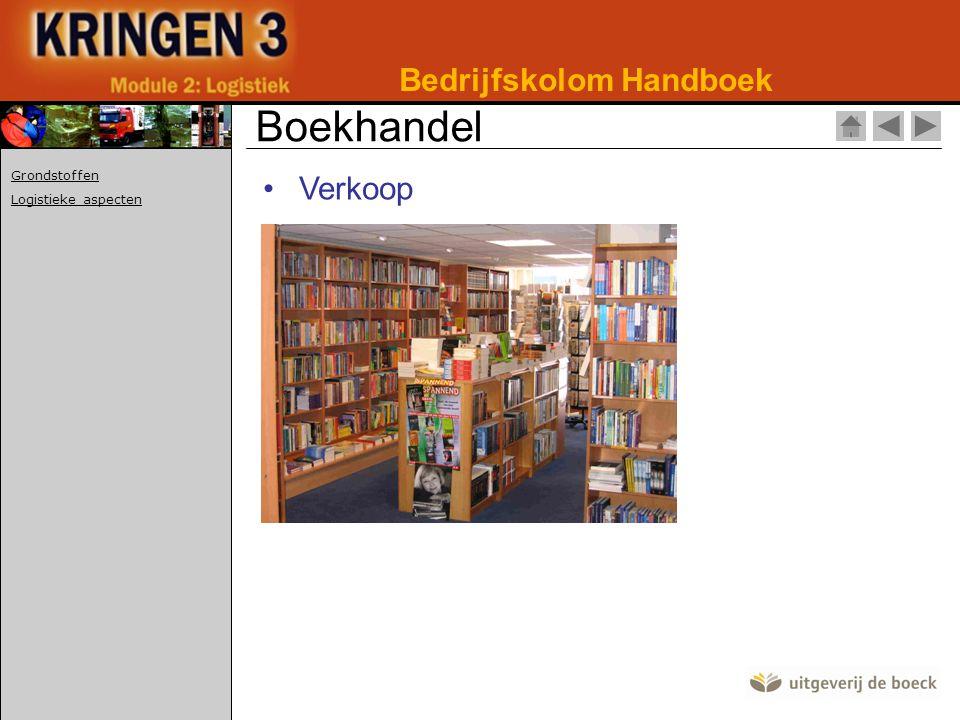 Boekhandel Bedrijfskolom Handboek Verkoop Grondstoffen