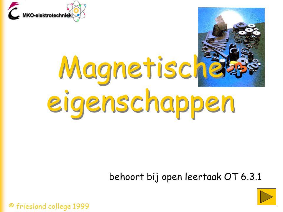 Magnetische eigenschappen