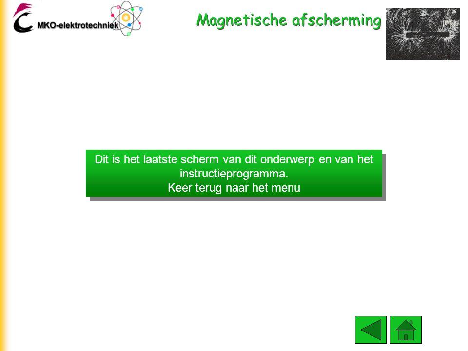 Magnetische afscherming