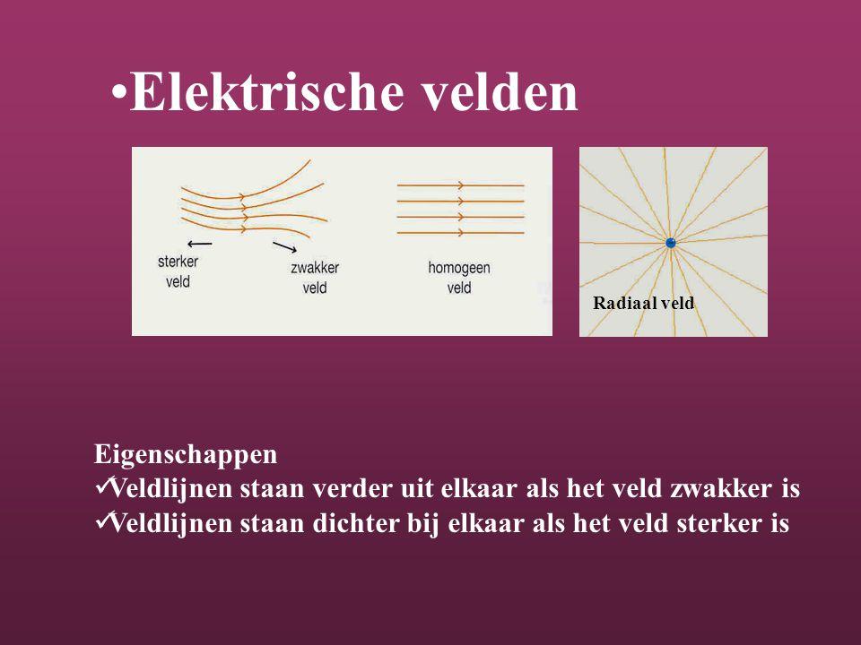 Elektrische velden Eigenschappen