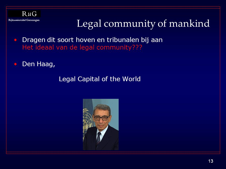 Legal community of mankind