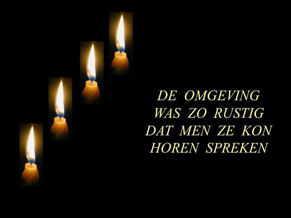 DE OMGEVING WAS ZO RUSTIG