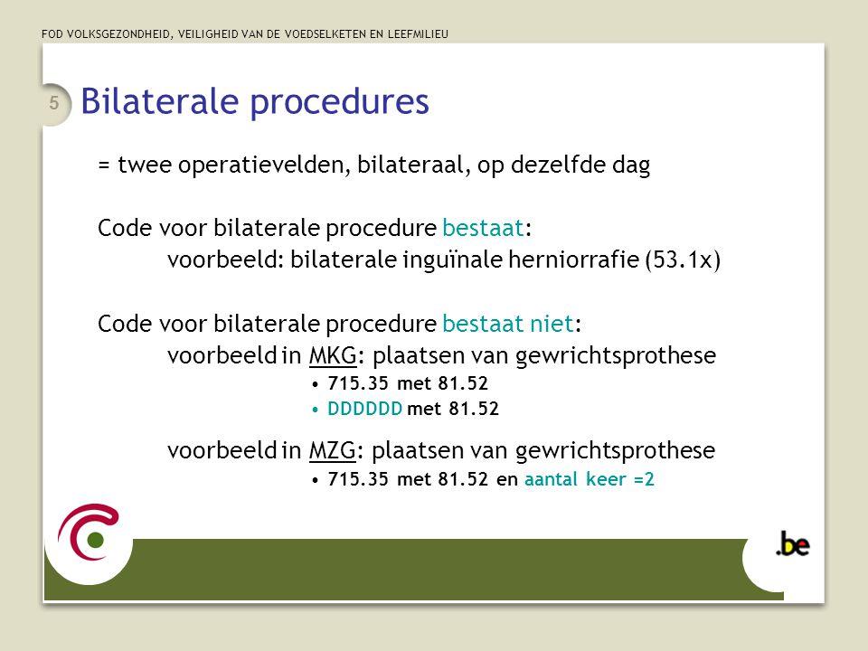 Bilaterale procedures