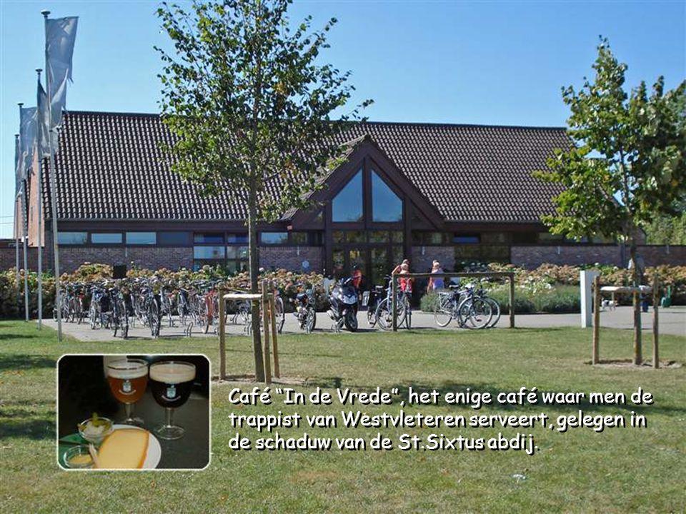 Café In de Vrede , het enige café waar men de