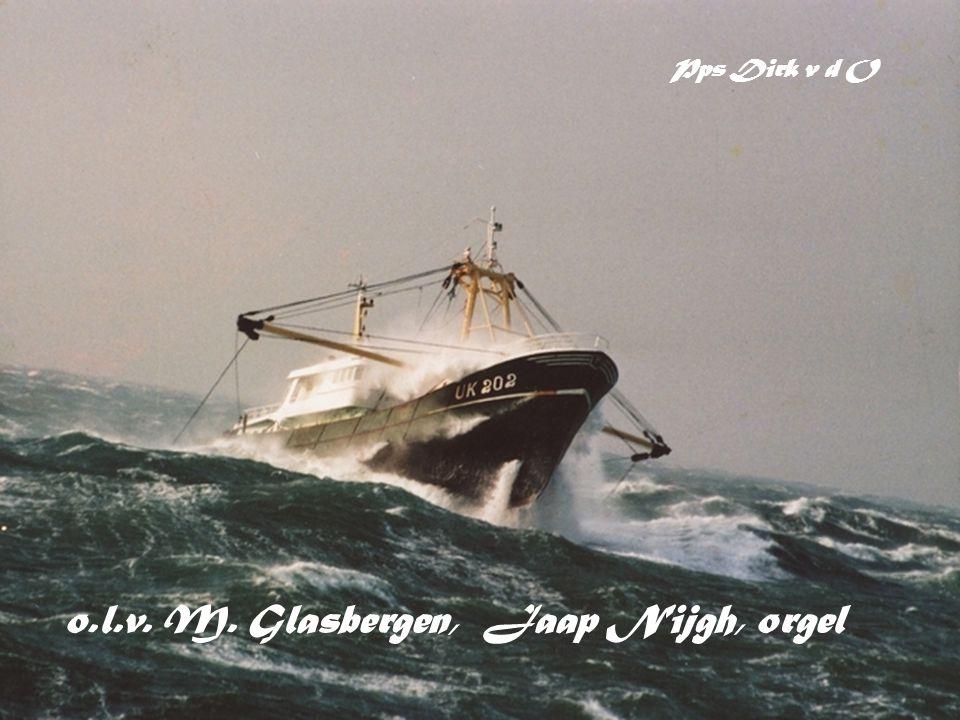 o.l.v. M. Glasbergen, Jaap Nijgh, orgel