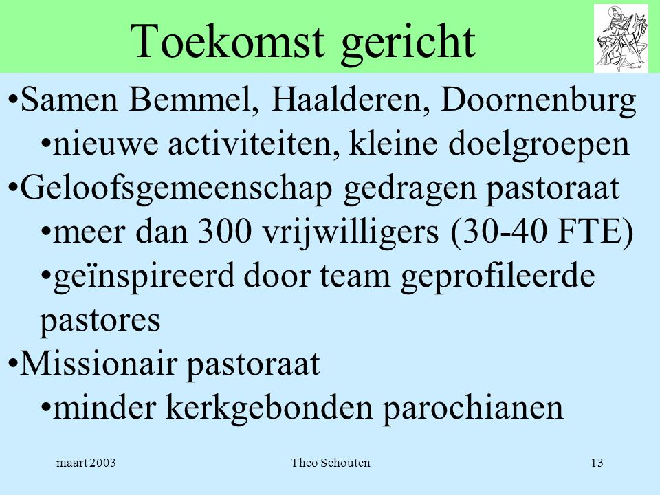 Toekomst gericht Samen Bemmel, Haalderen, Doornenburg
