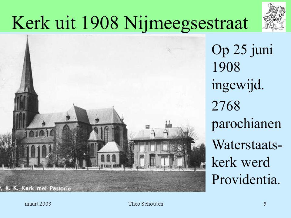 Kerk uit 1908 Nijmeegsestraat