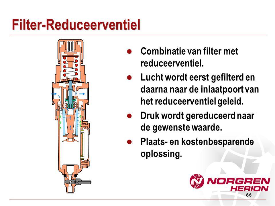 Filter-Reduceerventiel