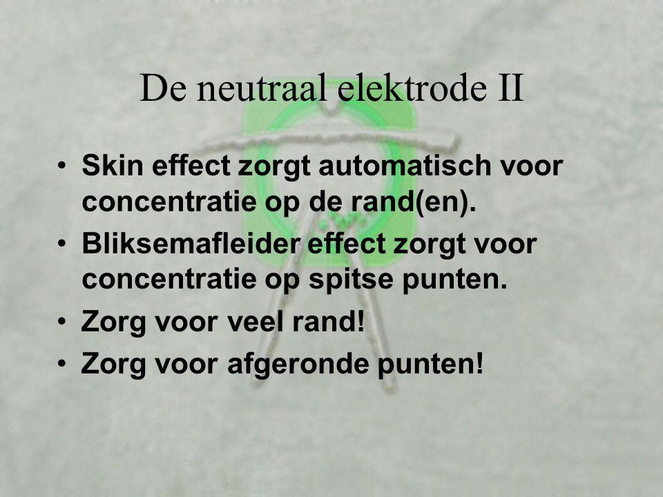 De neutraal elektrode II