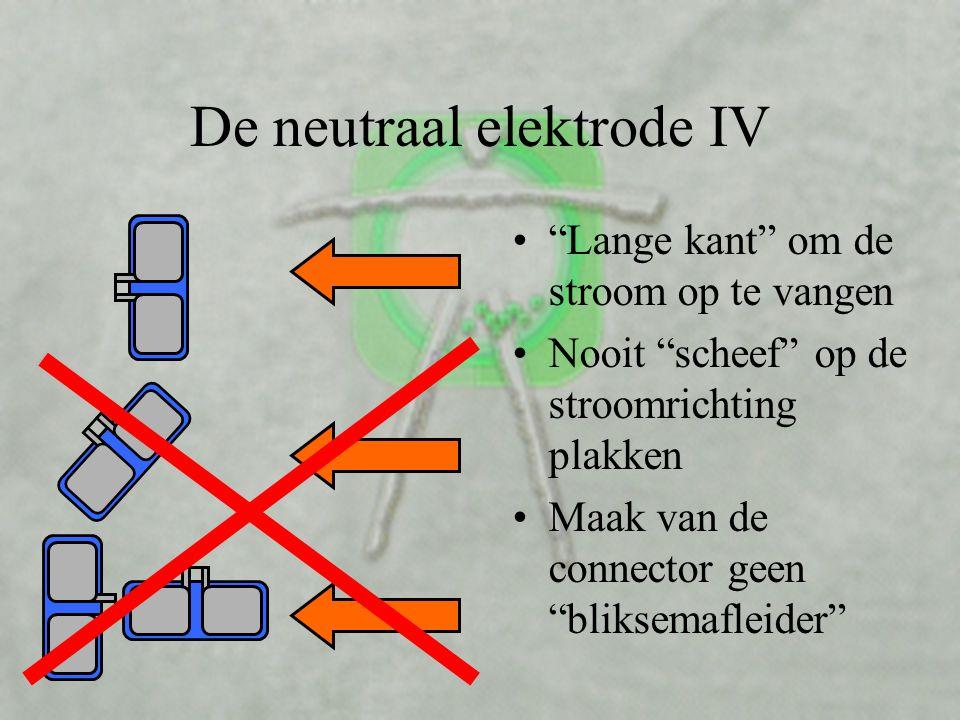 De neutraal elektrode IV
