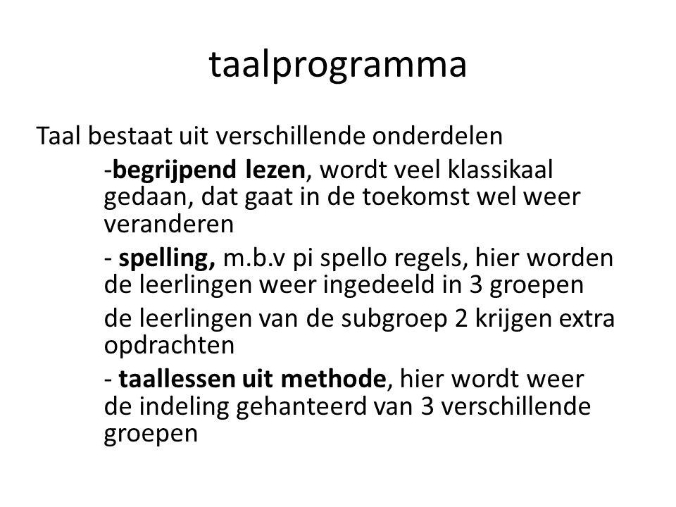 taalprogramma