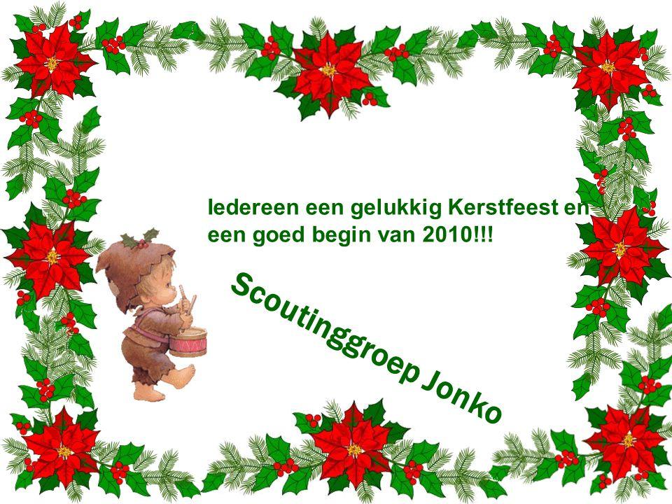 Iedereen een gelukkig Kerstfeest en een goed begin van 2010!!!