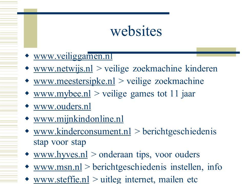 websites www.veiliggamen.nl