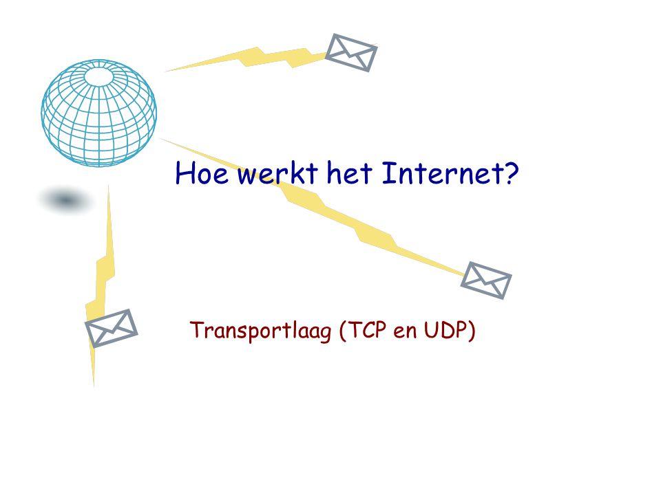 Transportlaag (TCP en UDP)