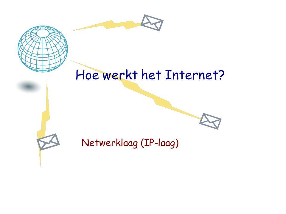 Netwerklaag (IP-laag)