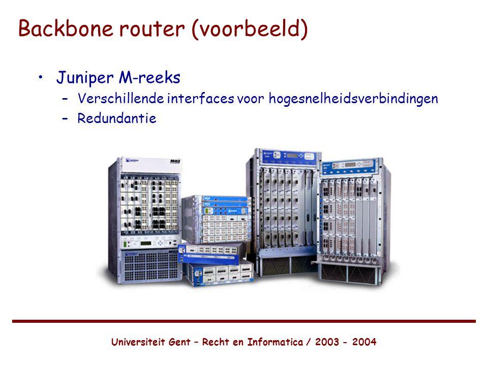 Backbone router (voorbeeld)