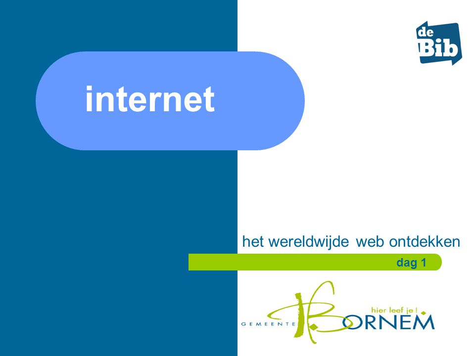 het wereldwijde web ontdekken