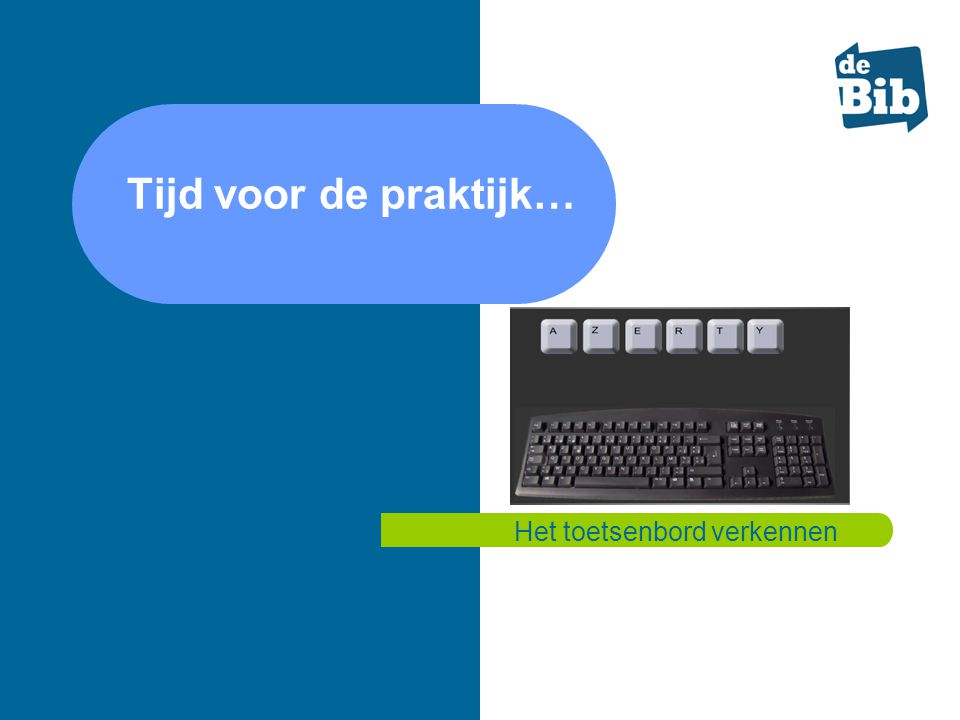 Het toetsenbord verkennen