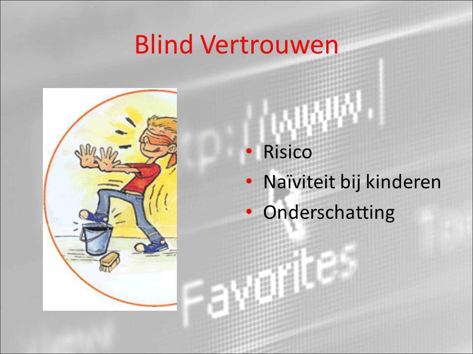 Blind Vertrouwen Risico Naïviteit bij kinderen Onderschatting