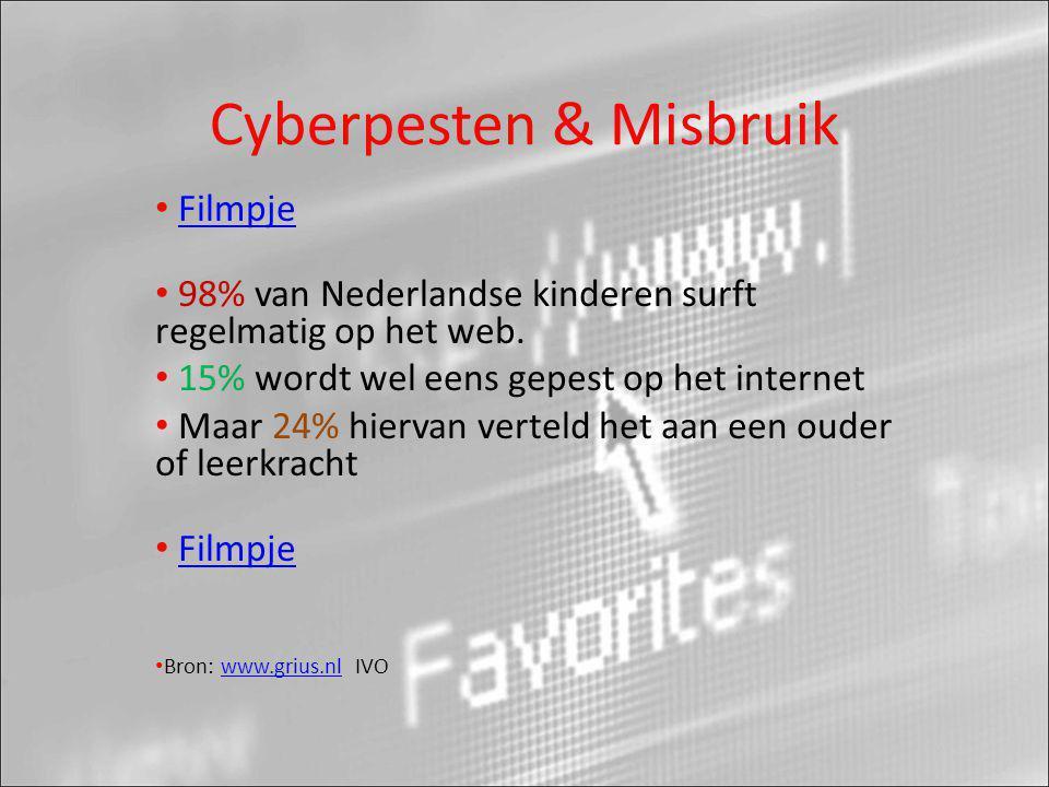 Cyberpesten & Misbruik