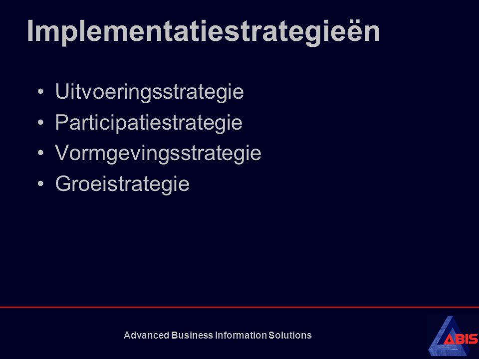 Implementatiestrategieën